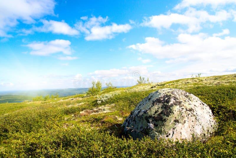 halna północna tundra fotografia stock