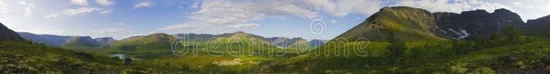 halna panorama fotografia stock