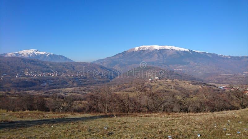 Halna panorama Kosowo obraz stock
