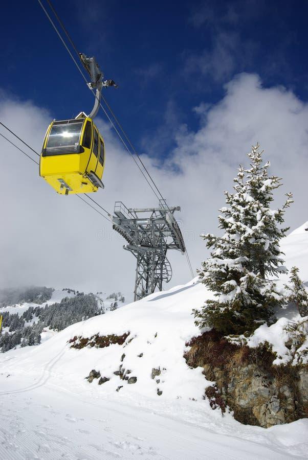 halna panoramy sceny zima zdjęcie royalty free
