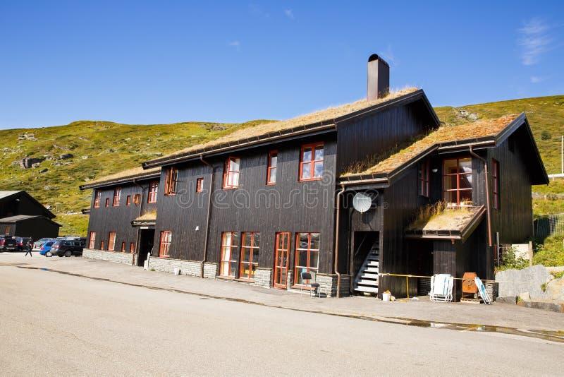Halna restauracja w Norwegia zdjęcie stock
