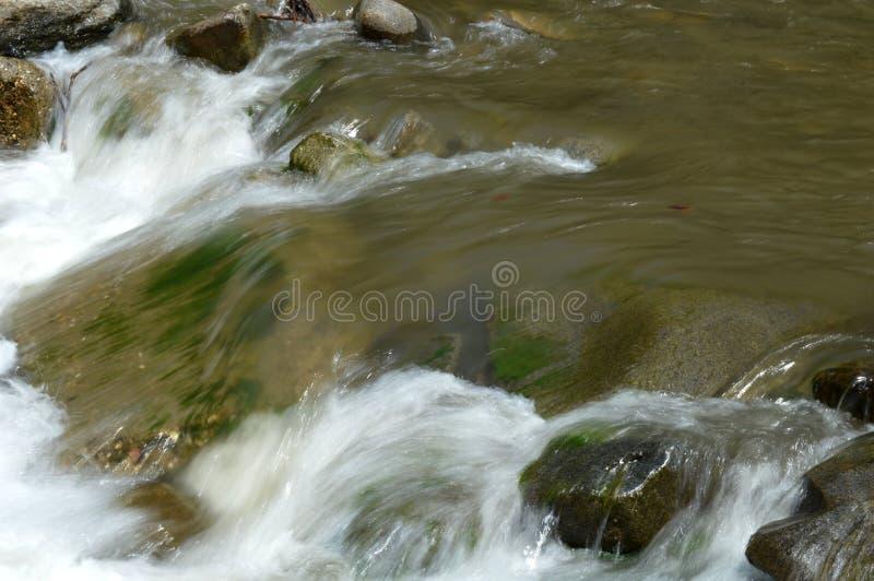 Halna rzeka I kamienie zdjęcie royalty free
