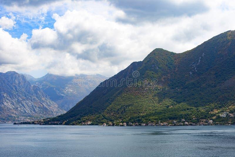 halnego i Adriatyckiego morza widok obrazy stock