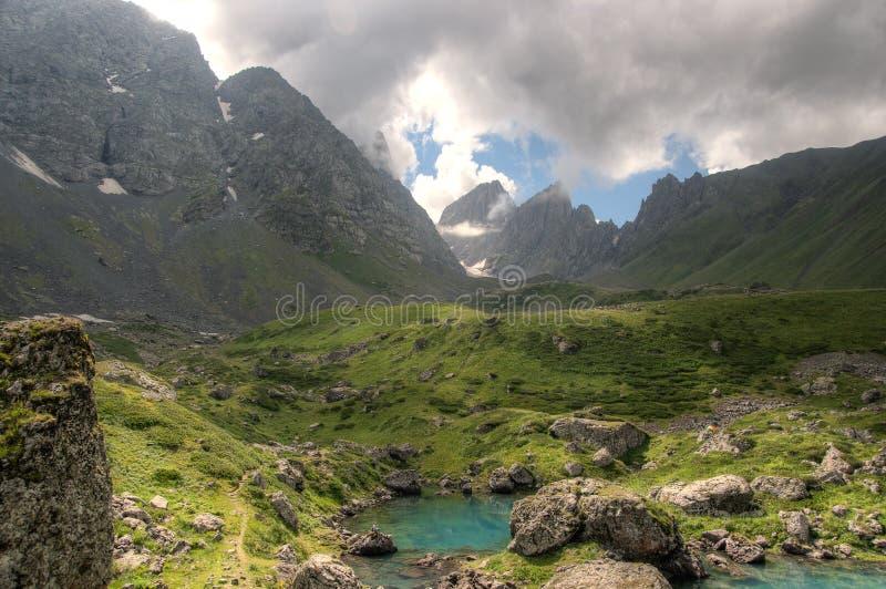 Halni jeziora zdjęcia royalty free
