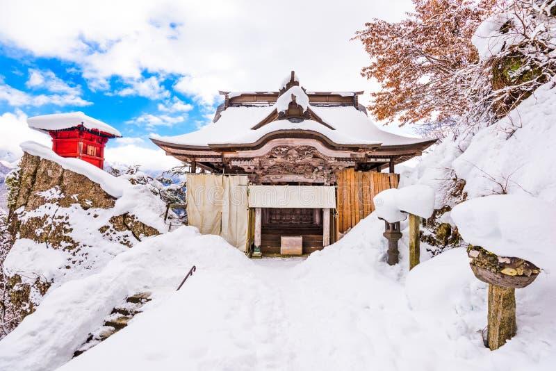 Halny Świątynny Japonia zdjęcia stock