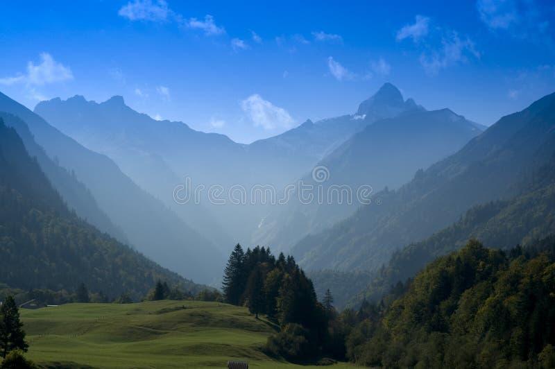 halny bavaria szczyt zdjęcie stock