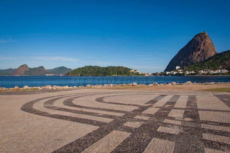 halny De sugarloaf Janeiro Rio obraz stock