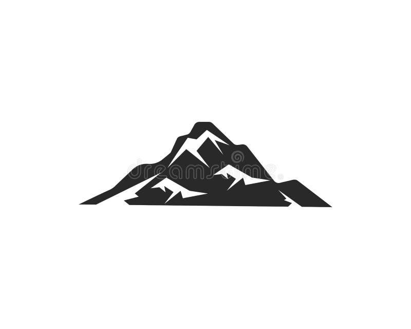 Halny ikona loga biznesu szablon ilustracji