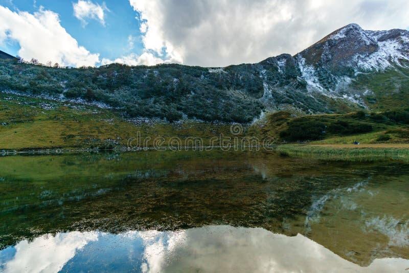 Halny Jeziorny nebelhorn obrazy royalty free