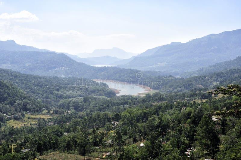 Halny miasto Nuwara Eliya fotografia stock