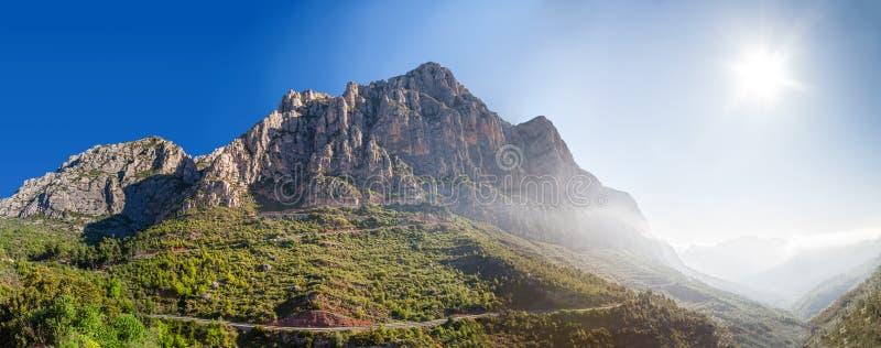 Halny Montserrat. Hiszpania fotografia royalty free