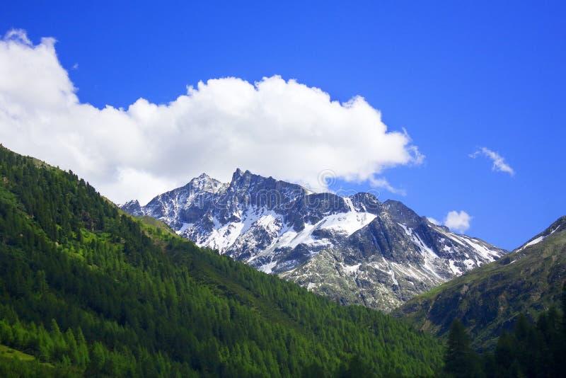 halny Valtellina fotografia stock