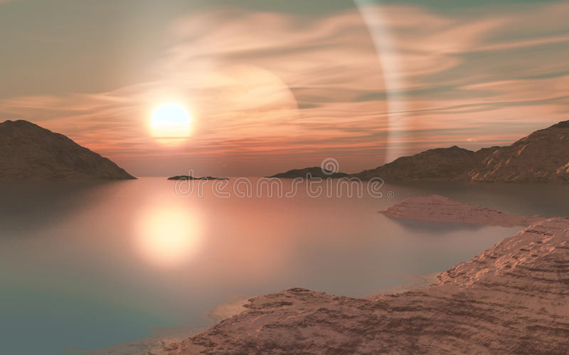 Download Halo stock illustration. Image of fiction, calm, sinking - 22405696