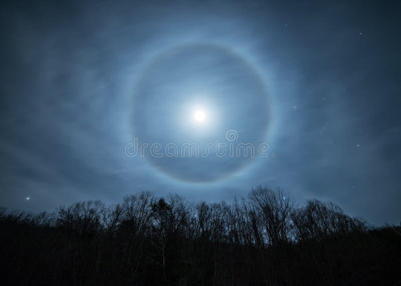 Halo de lune images stock