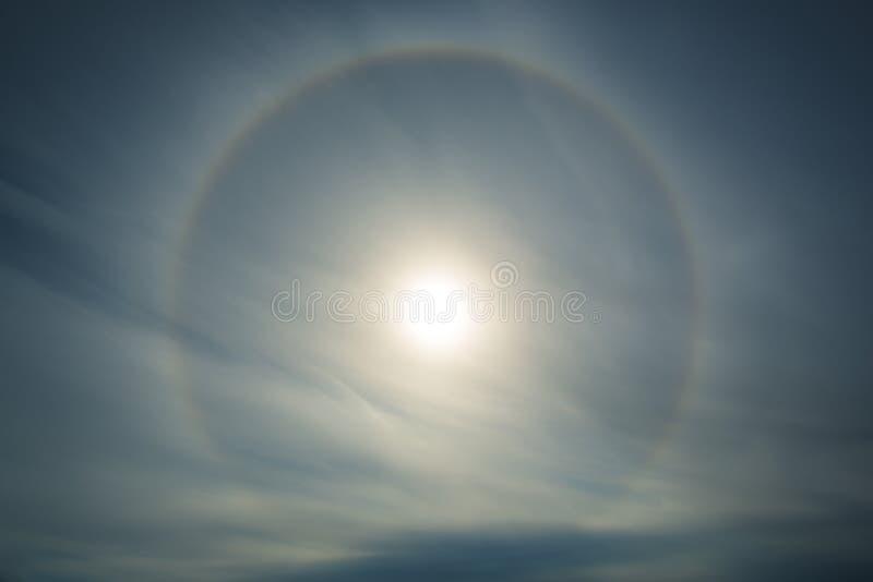 Halo 1 de Sun image libre de droits