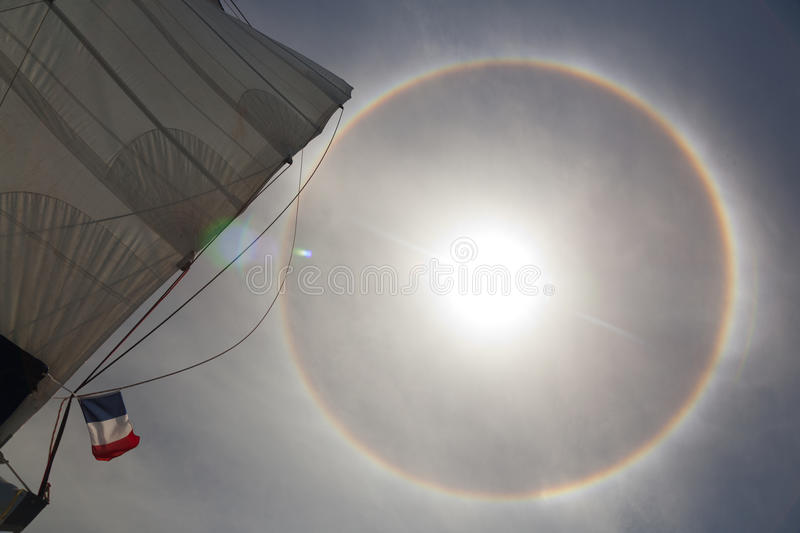 Download Halo effect on the ocean 2 stock image. Image of navigation - 26669147