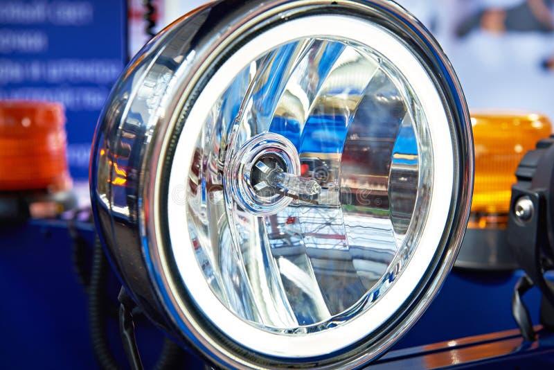 Halogeenkoplamp voor auto royalty-vrije stock foto's