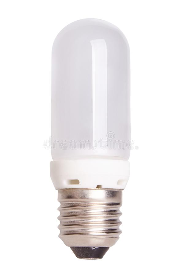 Halogen lamp, pilot lamp flash isolated on white background royalty free stock photography