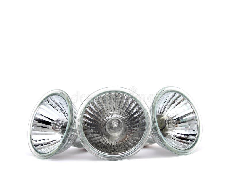 Halogen light bulb royalty free stock image