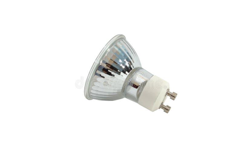 Halogen light GU10 bulb stock photography