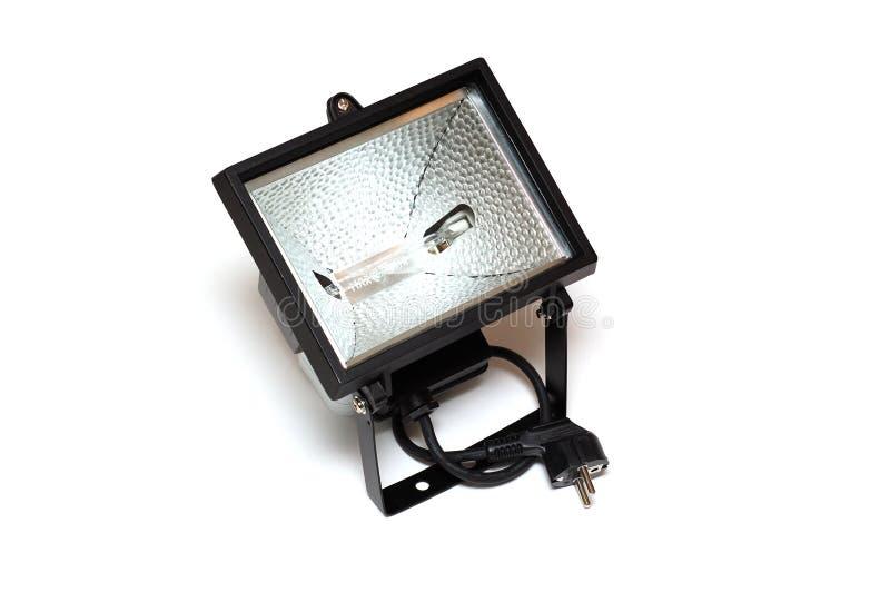 Halogen projector stock photo