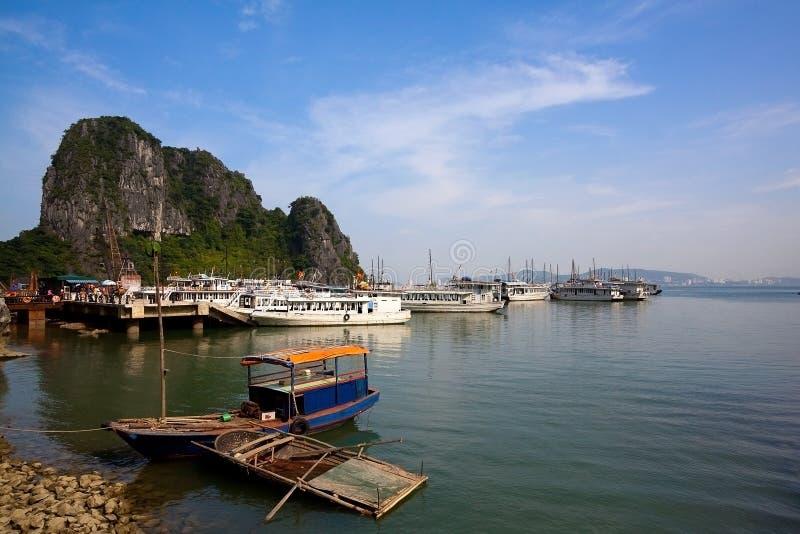 Halong bay in Quangninh, Vietnam stock photography