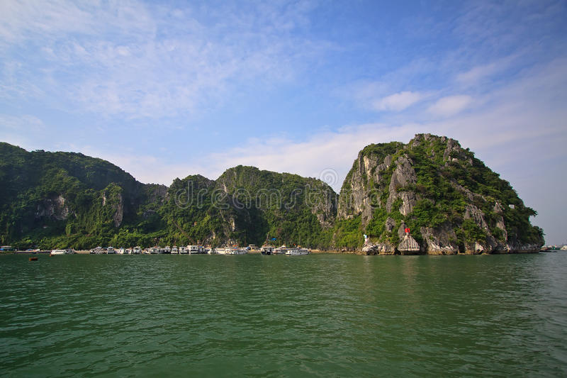 Halong bay in Quangninh, Vietnam royalty free stock images