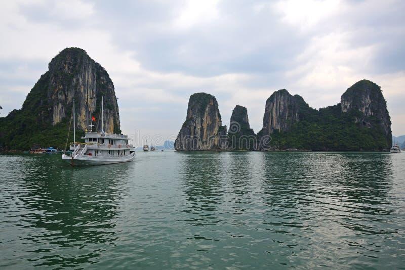 Halong bay in Quangninh, Vietnam stock photo