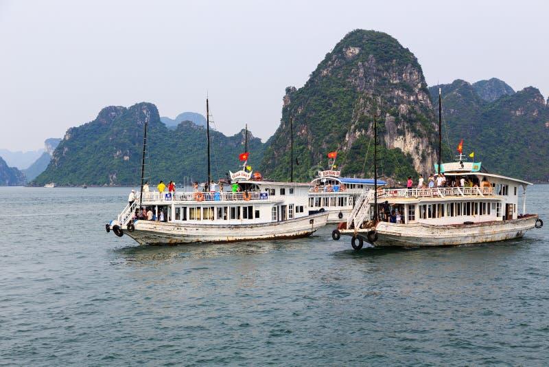 Halong bay in Quangninh, Vietnam.  stock photography
