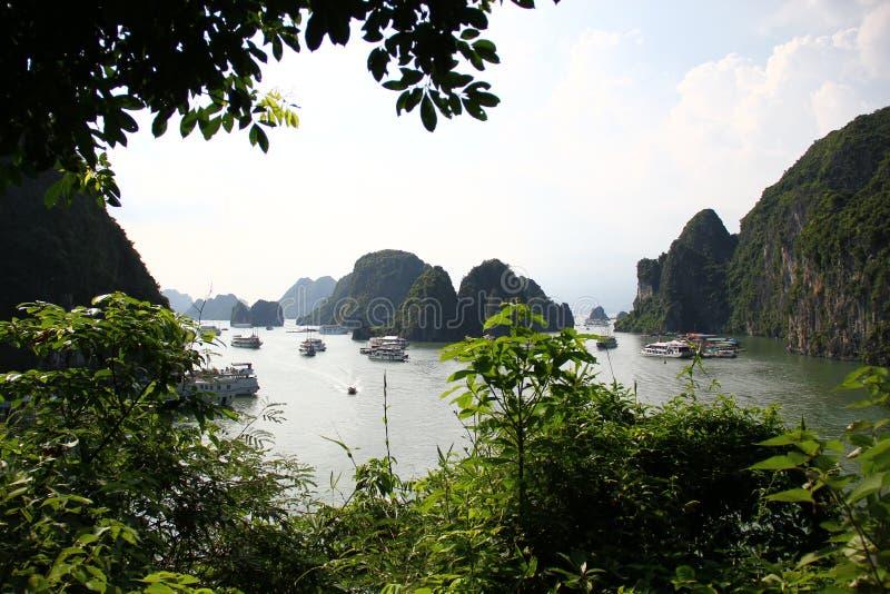 HaLong Bay view royalty free stock images