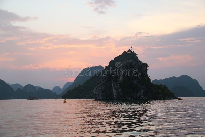 HaLong Bay view stock photos