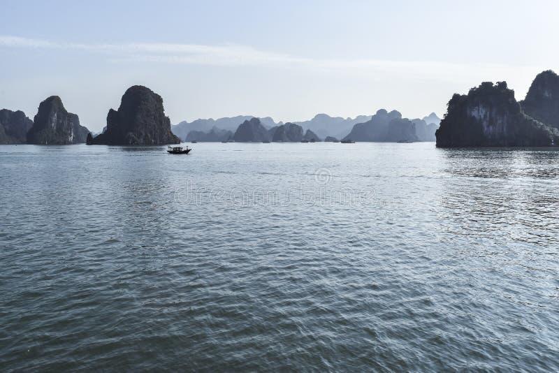 halong Vietnam de compartiment photographie stock