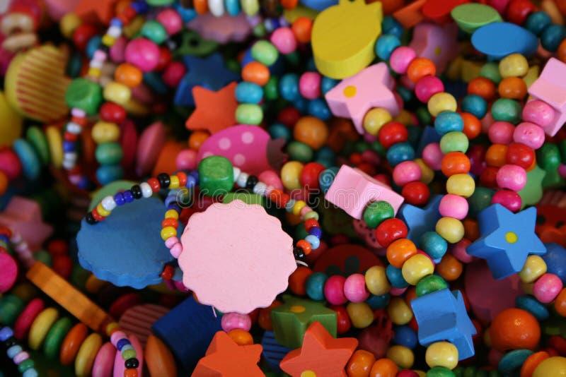 Halsband av färger arkivbilder
