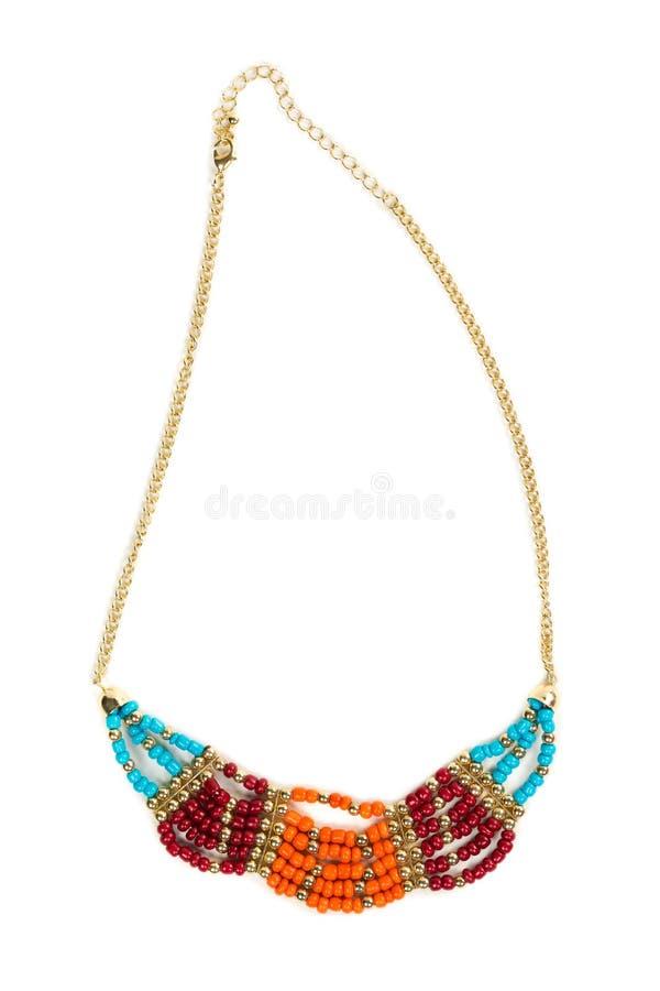 Halsband i etnisk stil royaltyfria bilder