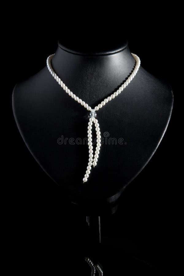 Halsband van parels. royalty-vrije stock fotografie