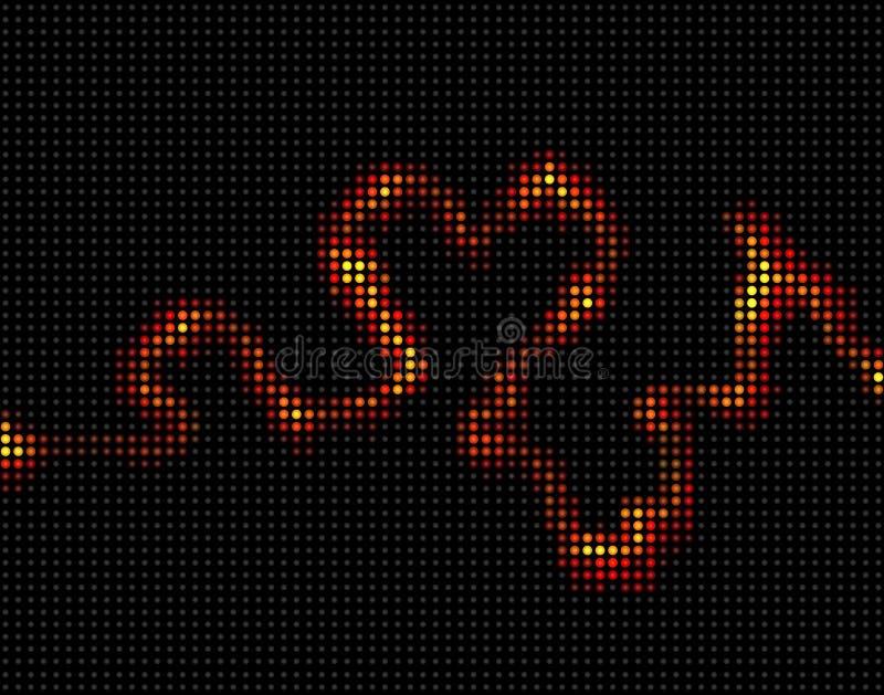 halsbränna vektor illustrationer