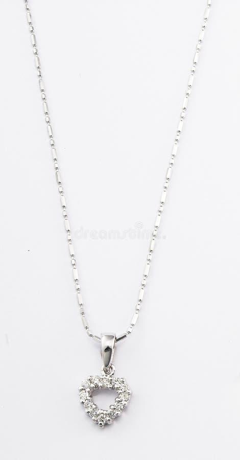 Halskette mit Anhänger stockfotos