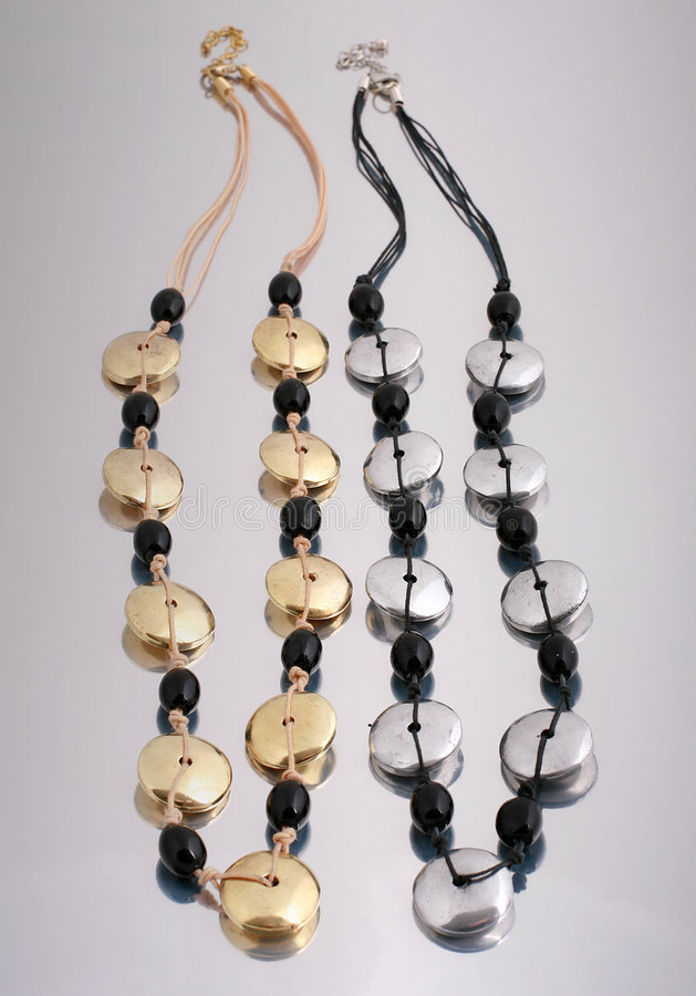 Halsketten stockfotos