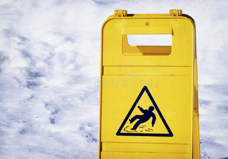 Halt yttersidatecken för varning arkivbild