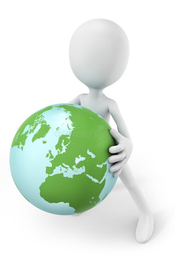 Download Halten der Welt stock abbildung. Illustration von auszug - 27733082