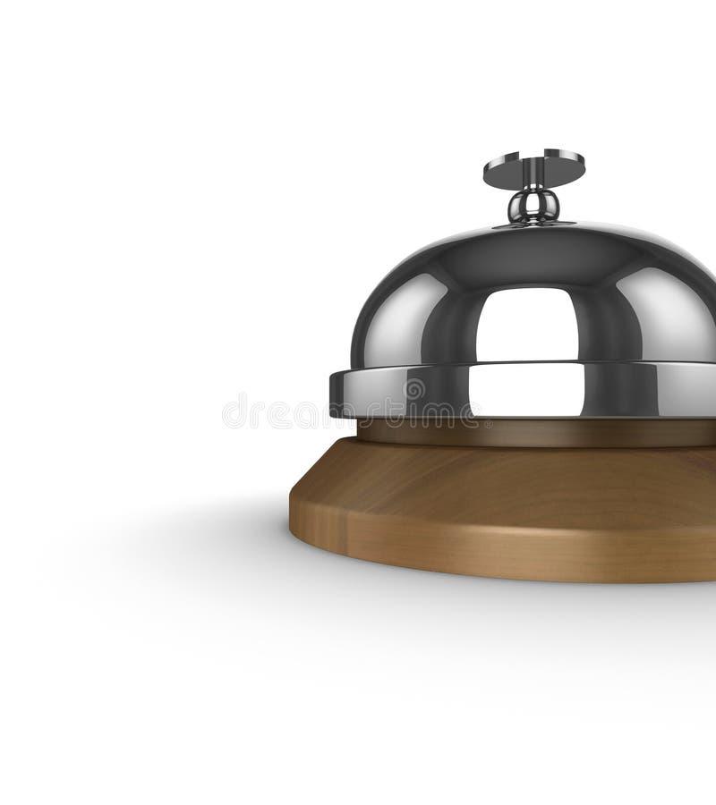 Halten Sie Bell instand vektor abbildung