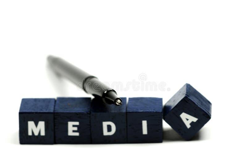 Halten Sie ein Auge auf den Media