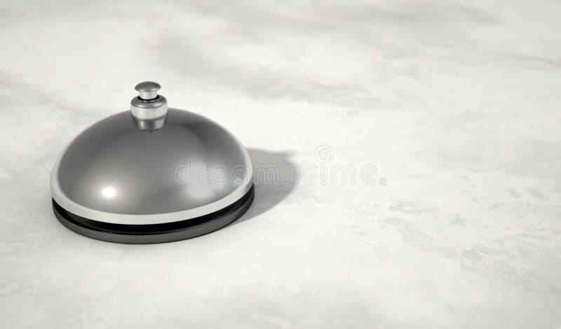 Halten Sie moderne Bell instand stock abbildung