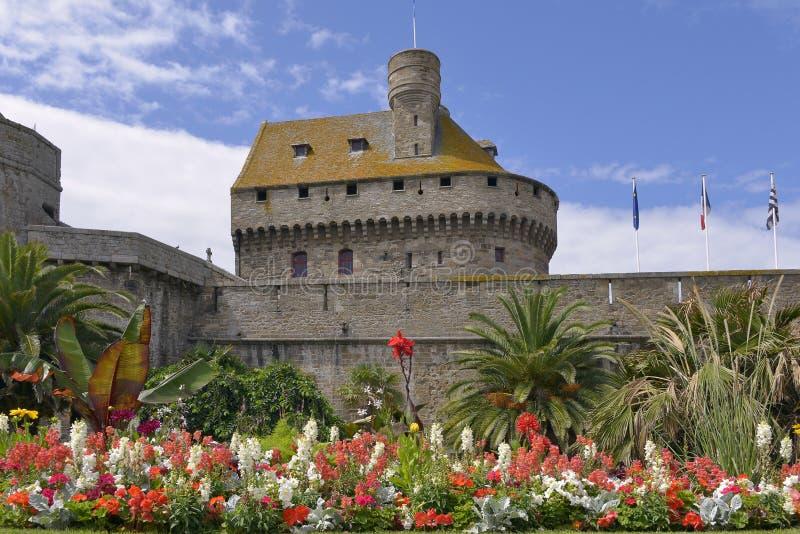 Halten Sie von Saint Malo in Frankreich lizenzfreie stockfotografie