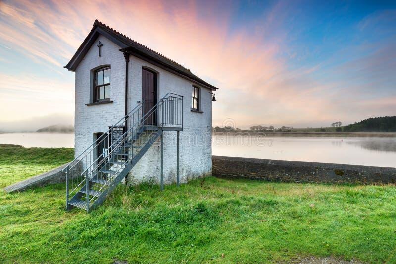 Halton Quay sur la rivière Tamar photographie stock libre de droits