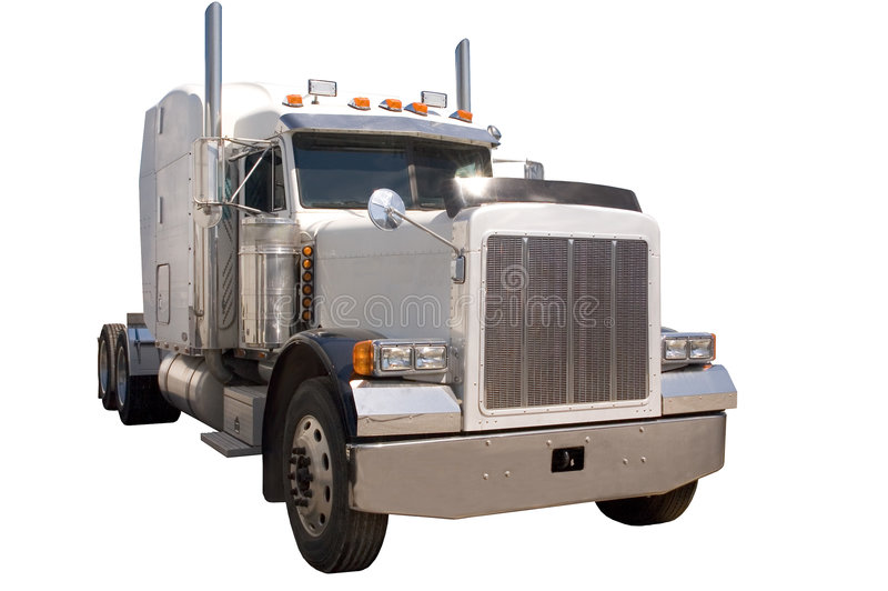 halv lastbil arkivbilder
