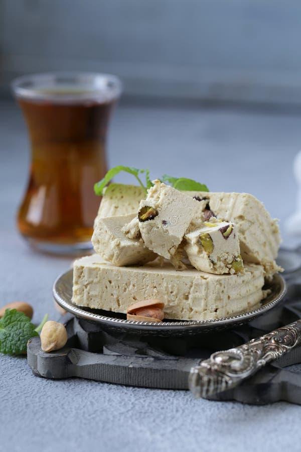 Halva avec des pistaches photo libre de droits