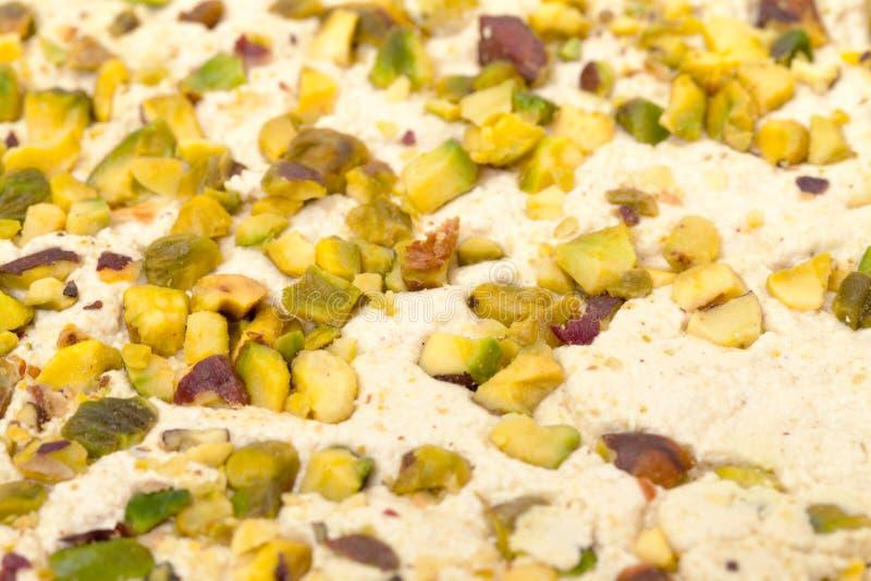 Halva avec des pistaches photographie stock libre de droits