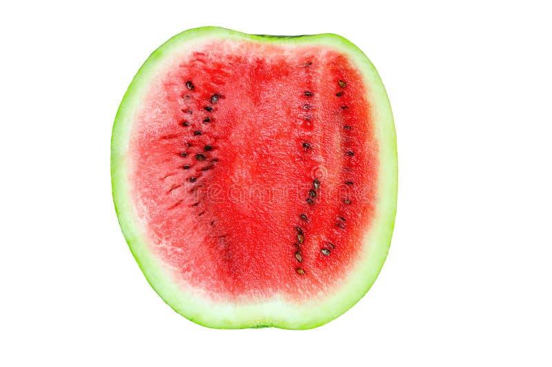 Halva en vattenmelon arkivfoto