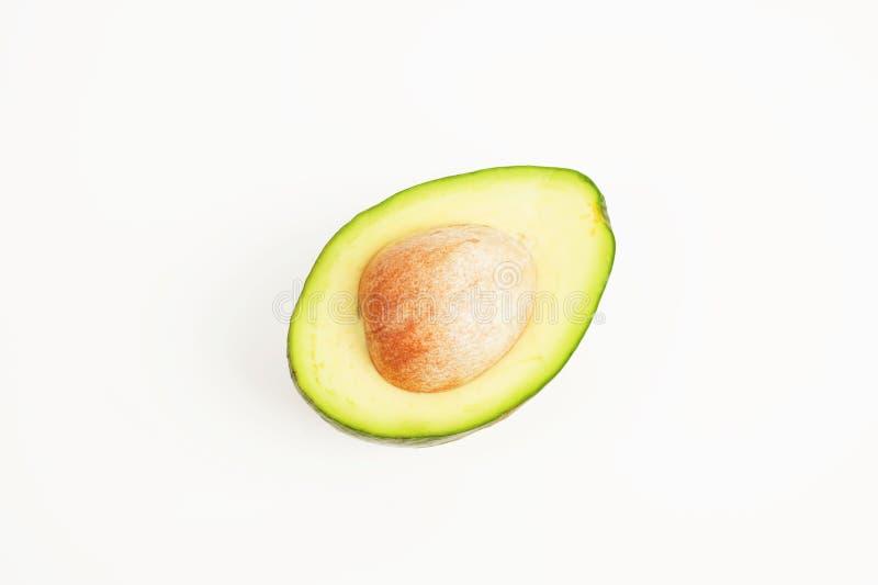 Halve avocado stock foto
